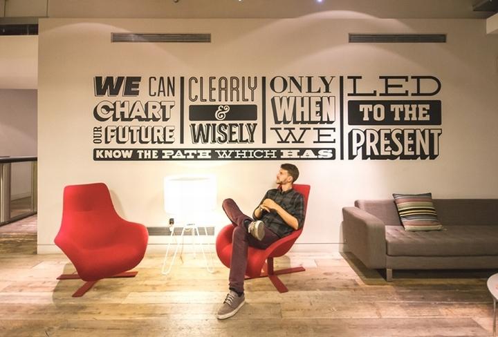 Офис Sony Music Timeline в Лондоне, Англия