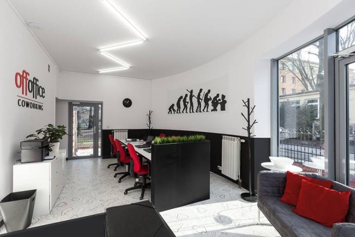 Совместное рабочее пространство: главный зал офиса