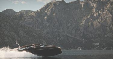 Деревянная прогулочная современная яхта класса люкс