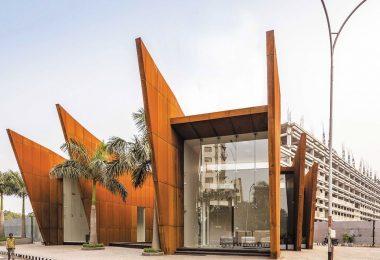 Современное офисное здание в Бразилии