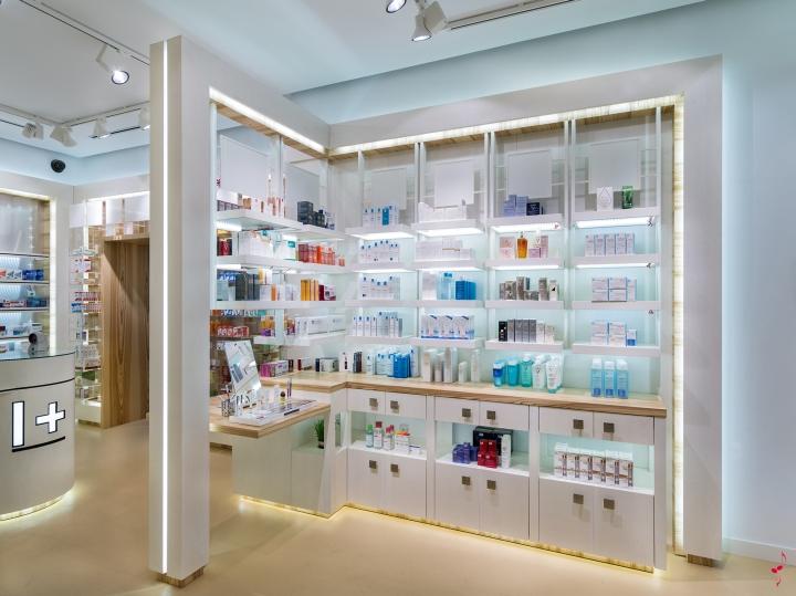 Современный дизайн аптеки: внутреннее оформление
