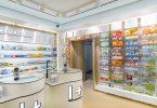 Современный дизайн для аптеки в Испании