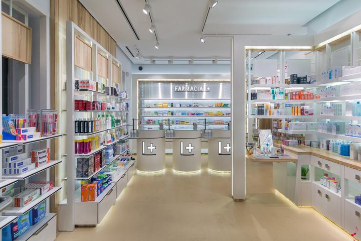 Современный дизайн аптеки