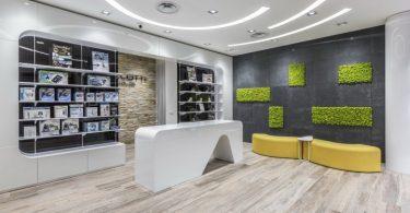 Современный дизайн для аптеки MELOTTI