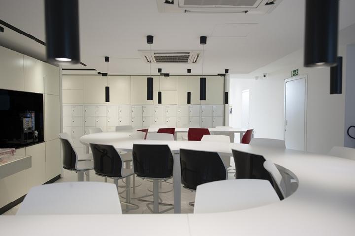Современный стиль в интерьере офиса. Комната переговоров