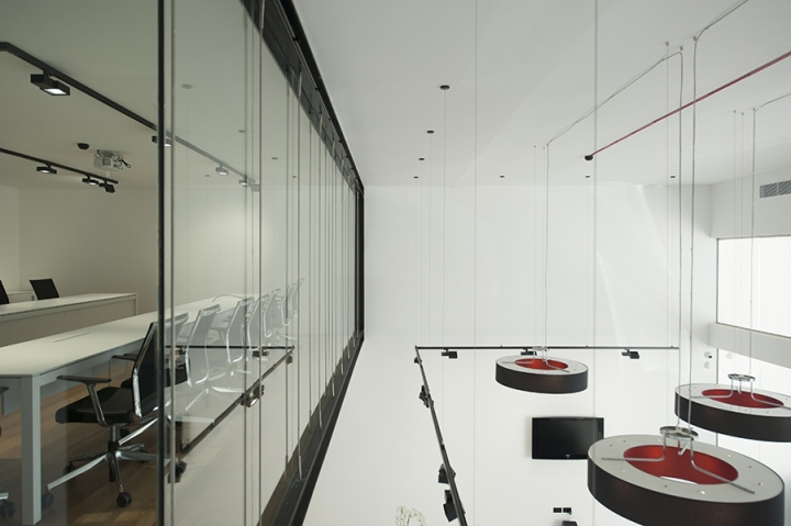 Современный стиль в интерьере офиса от итальянских дизайнеров