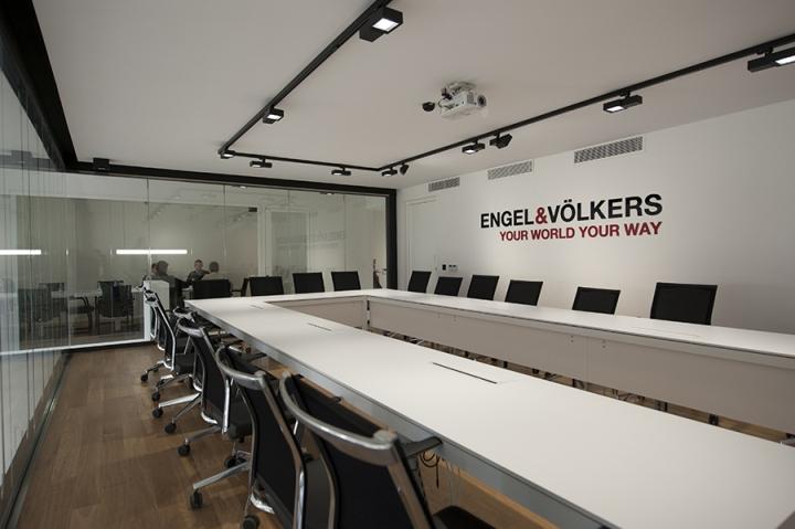 Современный стиль в интерьере офиса: чёрно-белый дизайн