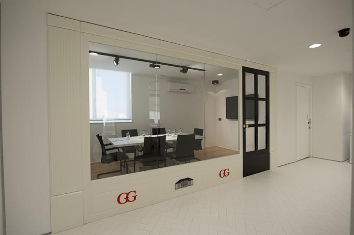 Современный стиль в интерьере офиса от MODEL