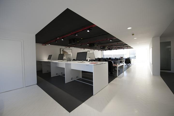 Современный стиль в интерьере офиса: открытая планировка