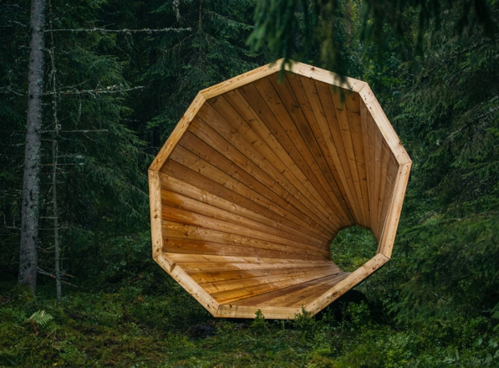 Дизайн деревянного конуса для отдыха - Фото 3