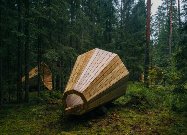 Дизайн деревянного конуса для отдыха - Фото 4