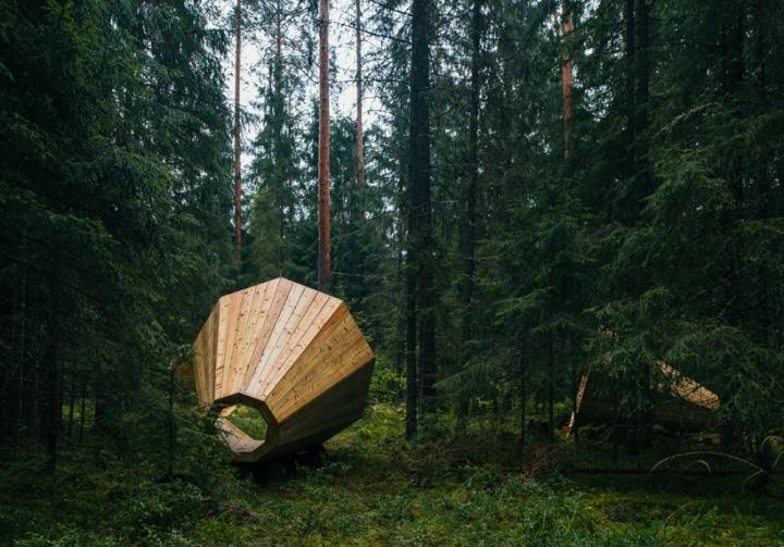 Дизайн деревянного конуса для отдыха - Фото 7