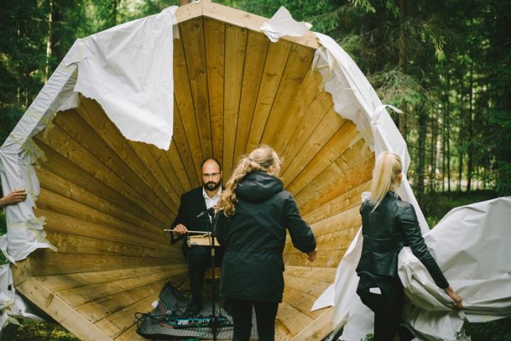 Дизайн деревянного конуса для отдыха - Фото 9