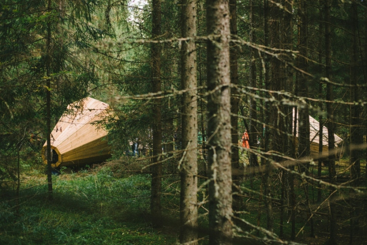 Дизайн деревянного конуса для отдыха - Фото 11