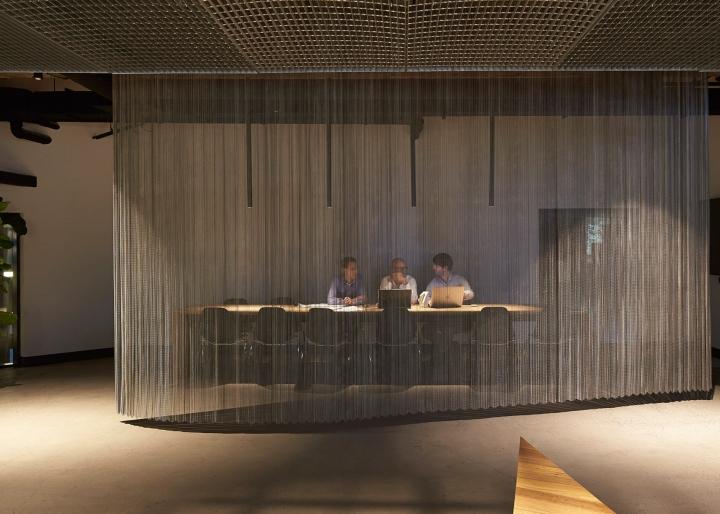 Прозрачные перегородки в интерьере офиса