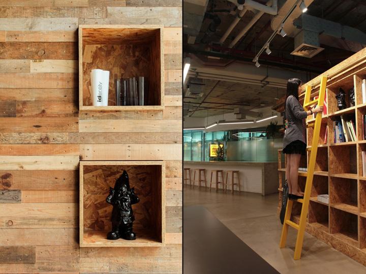Создание интерьера офиса: интересный элементы декора