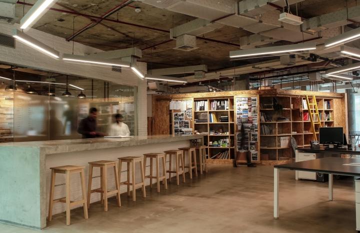 Создание интерьера офиса: главный зал