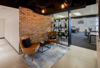 Создание интерьера офиса в Сиднее