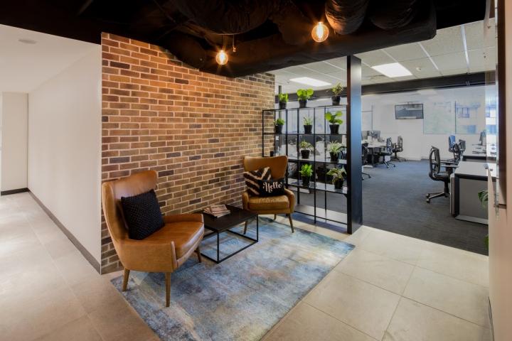 Создание интерьера офиса урбанистического вида