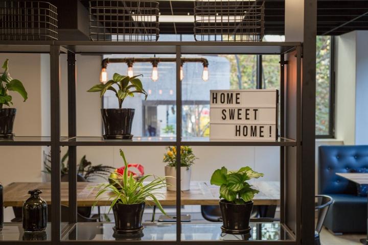 Создание интерьера офиса: зелень освежает общий вид