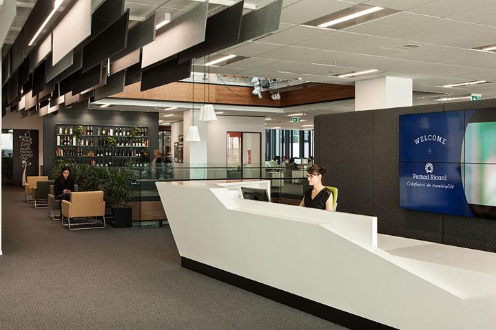 Создание интерьера офиса в Окленде, Новая Зеландия