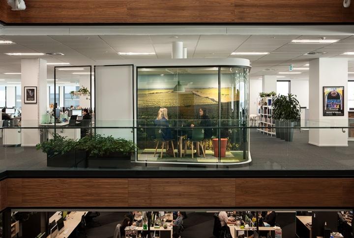 Создание интерьера офиса в Окленде, Новая Зеландия. Фото 2