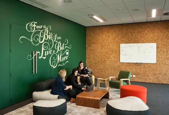 Создание интерьера офиса в Окленде, Новая Зеландия. Фото 3