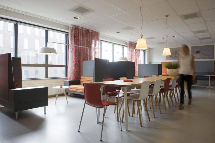 Гостиная комната в госпитале Spaarne в Хофддорпе