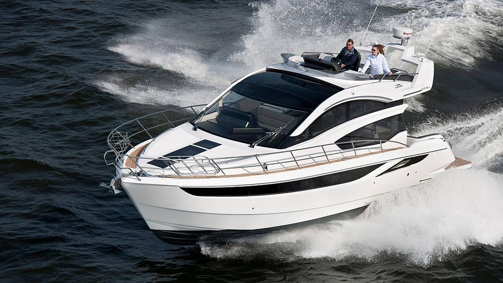 Спортивная яхта Galeon 430 Skydeck