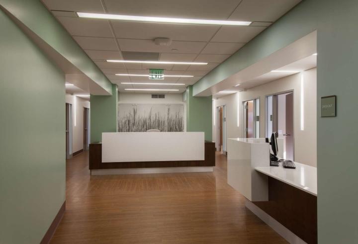 Ресепшен медицинского центра St. Louis в Миссури