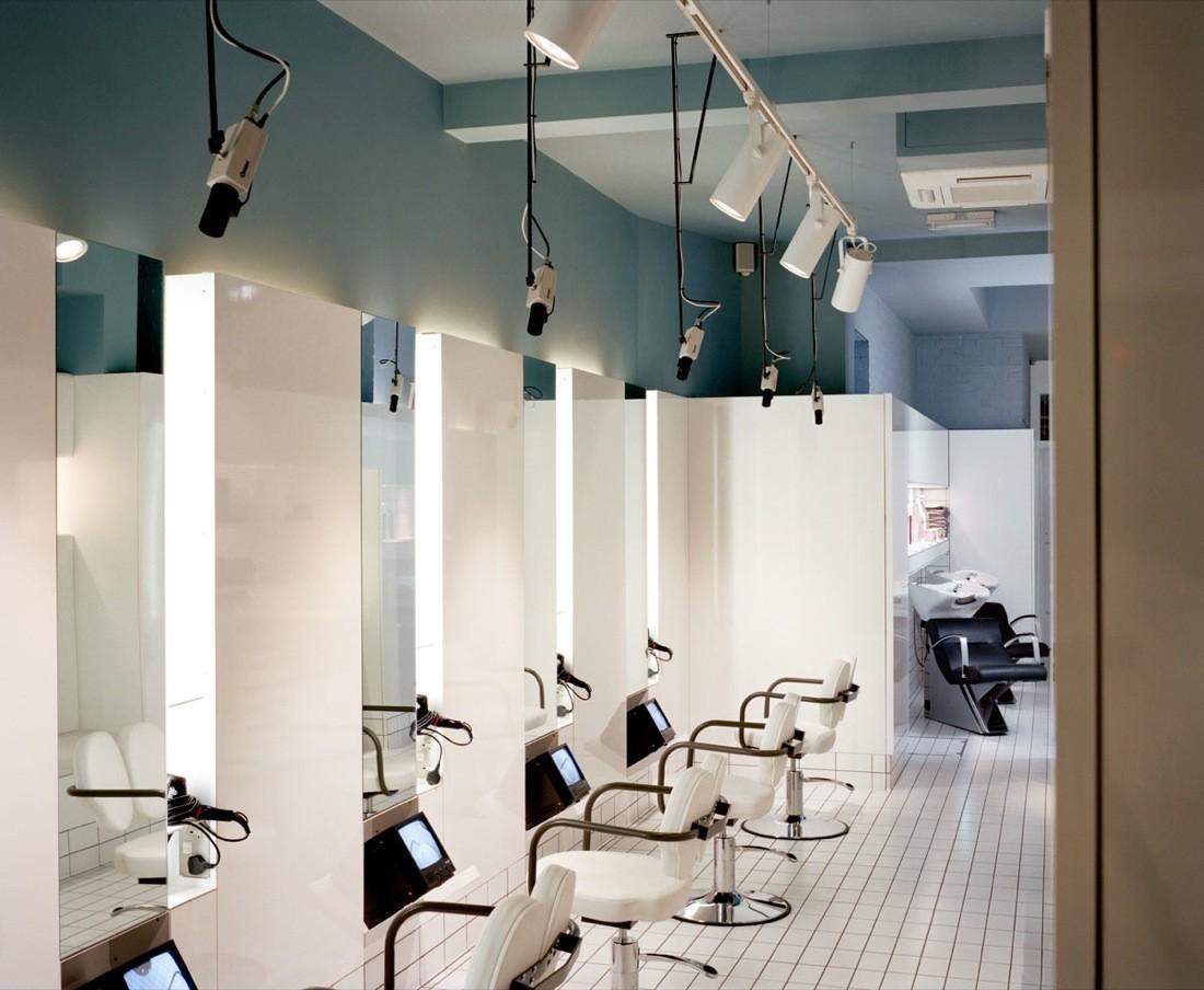 Обманчивый дизайн интерьер парикмахерской - Фото 2