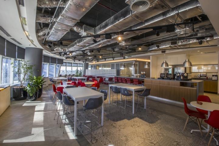 Стильный интерьер офиса Bain & Company: зона отдыха