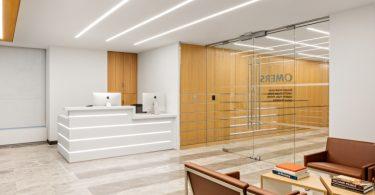 Стильный интерьер офиса на Парк-Авеню