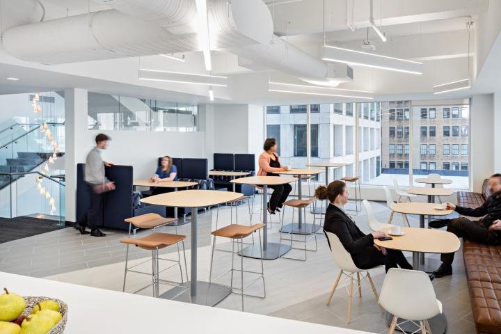 Стильный интерьер офиса: кафе