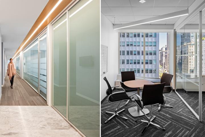 Cтильный интерьер офиса: коридоры