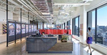 Стильный интерьер офиса в США