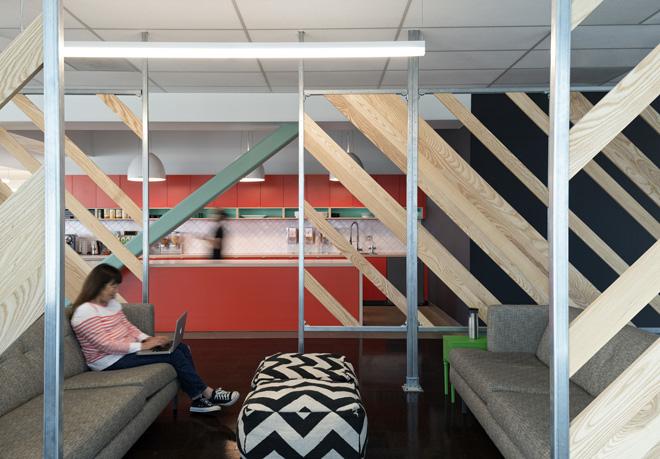 Новый офис компании «Evernote» в Силиконовой Долине