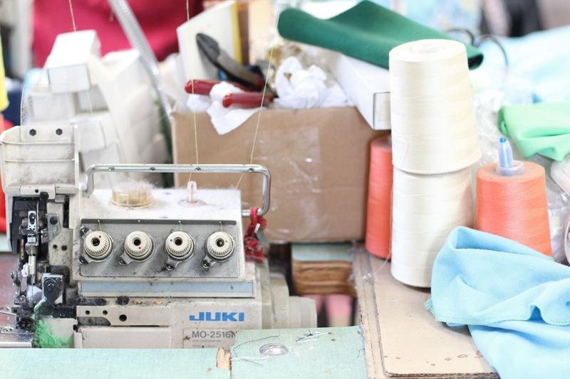 Студия дизайна одежды: швейное оборудование