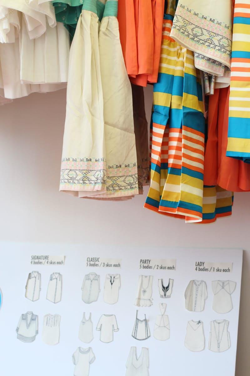 Студия дизайна одежды: модели от Лорен Моффатт отличаются неожиданными цветовыми комбинациями