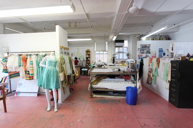 Студия дизайна одежды: рабочее пространство