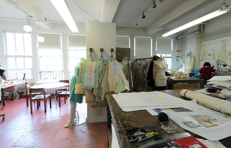 Студия дизайна одежды: высокие потолки