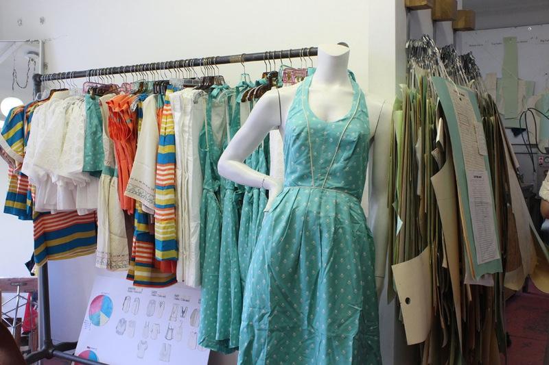 Студия дизайна одежды: яркие и удобные проекты от Лорен Моффатт
