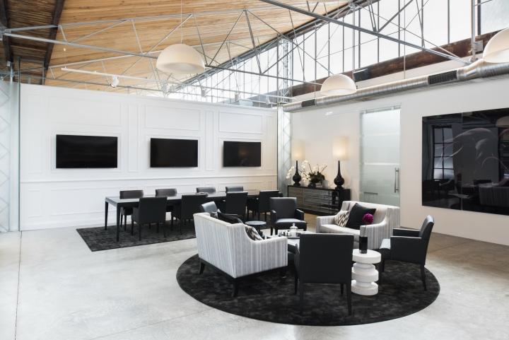 Просторный светлый офис в Сиднее, Австралия: идея оформления