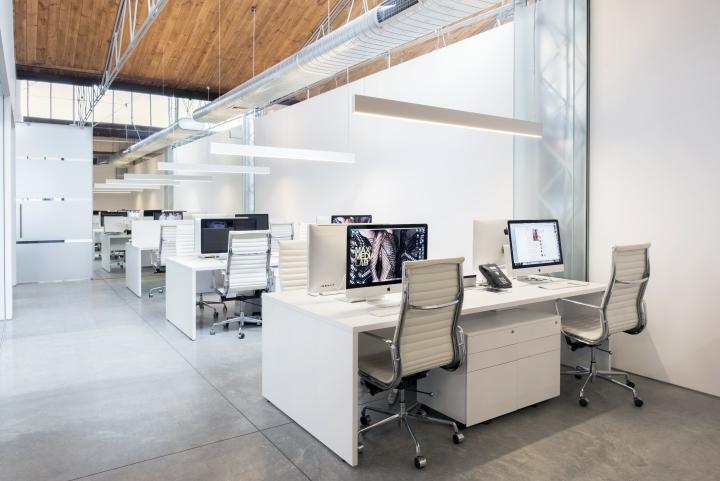 Просторный светлый офис в Сиднее, Австралия: реализация открытой планировки