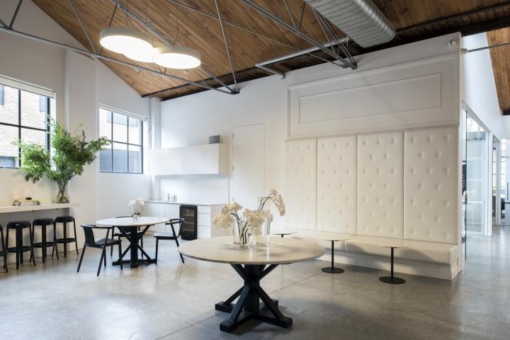 Просторный светлый офис в Сиднее, Австралия: место для обеда