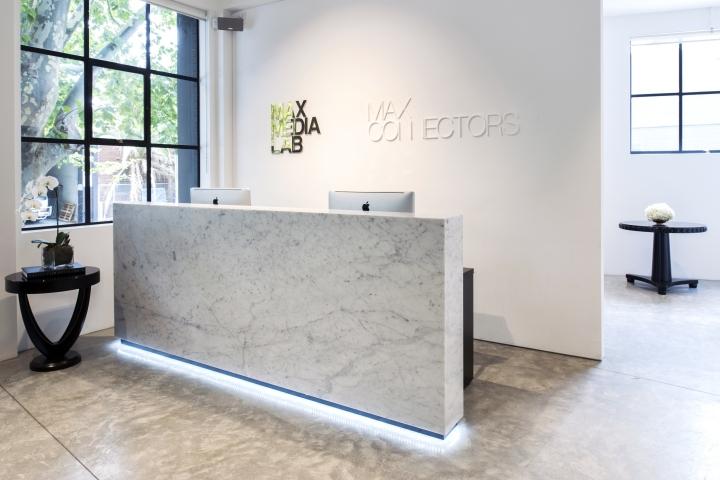 Просторный светлый офис в Сиднее, Австралия: ресепшен