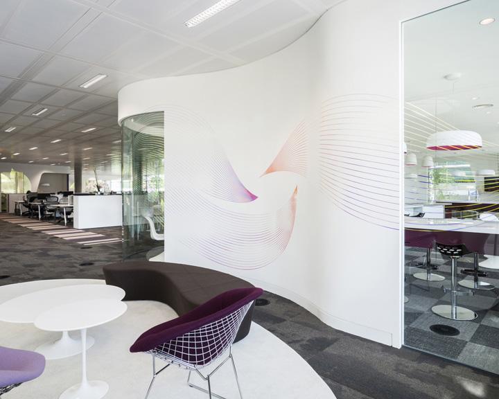 Элегантный дизайн офиса Swarovski в Лондоне
