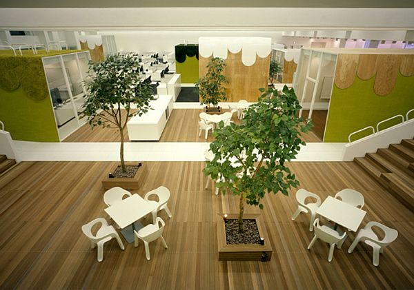 Дизайн лучших офисов: «TBWA Hakuhodo»