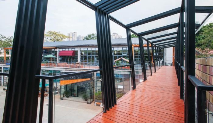 Дизайн современного офиса компании Tencent в Китае