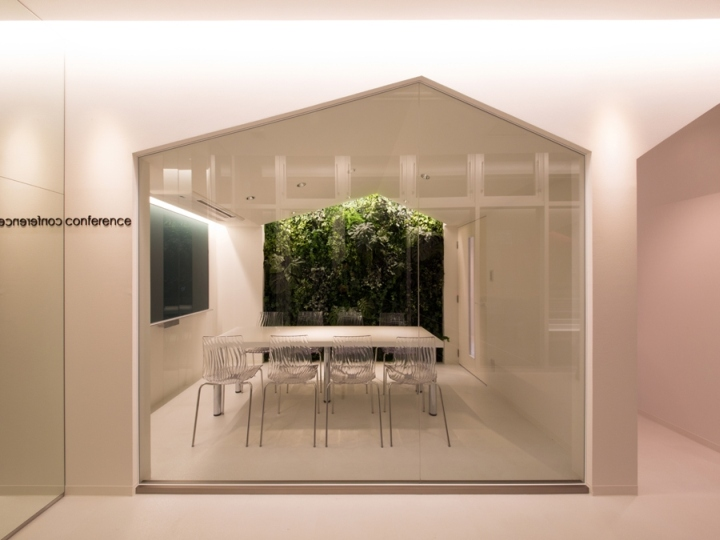 Современный дизайн школы Toshin Satellite Preparatory, Kobe, Япония